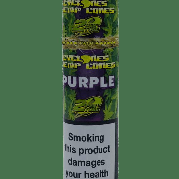 Blunts Cone Cyclone Purple x2 e1594775529801