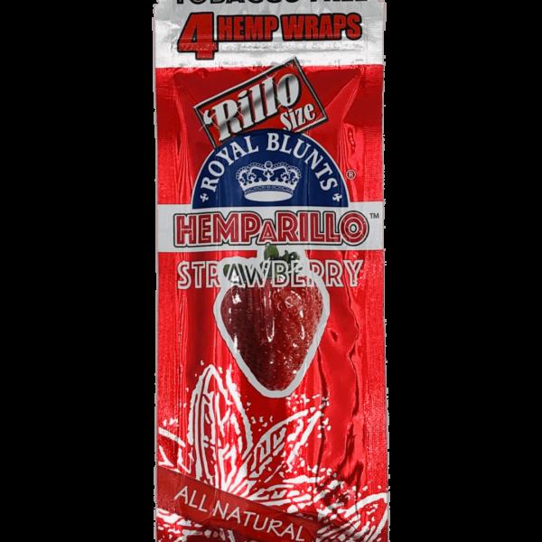Blunts Hemparillo Strawberry x4 e1594771256521