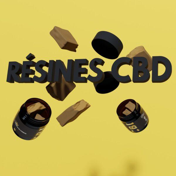 Résines CBD